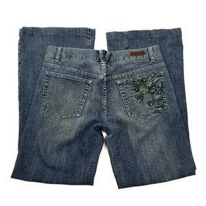 Calvin Klein 'Trouser' Flare Jeans